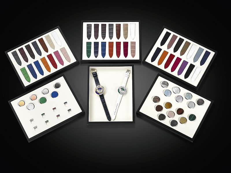 設計個人專屬的腕錶:Fendi 腕錶傾情呈獻 Policromia 訂製服務