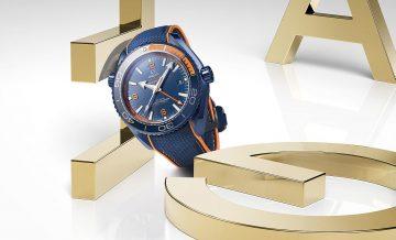 歐米茄海馬Seamaster Planet Ocean Big Blue腕錶