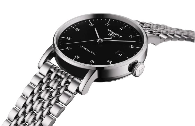 時刻散發精彩魅力:天梭發表全新Everytime Swissmatic自動腕錶