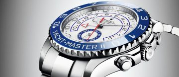 船長必備腕錶:勞力士新款Oyster Perpetual Yacht-Master II