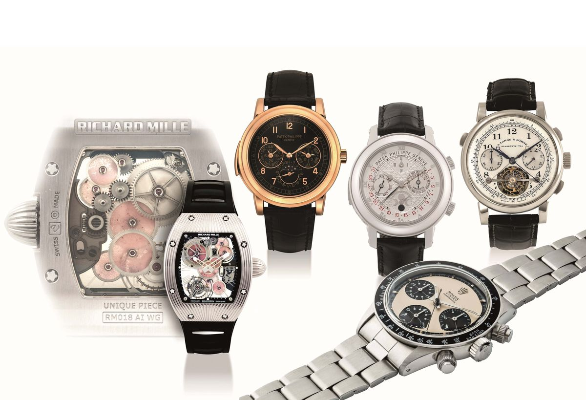 珍稀時計,難能可貴:Christie's佳士得香港精緻名錶拍賣會五大作品