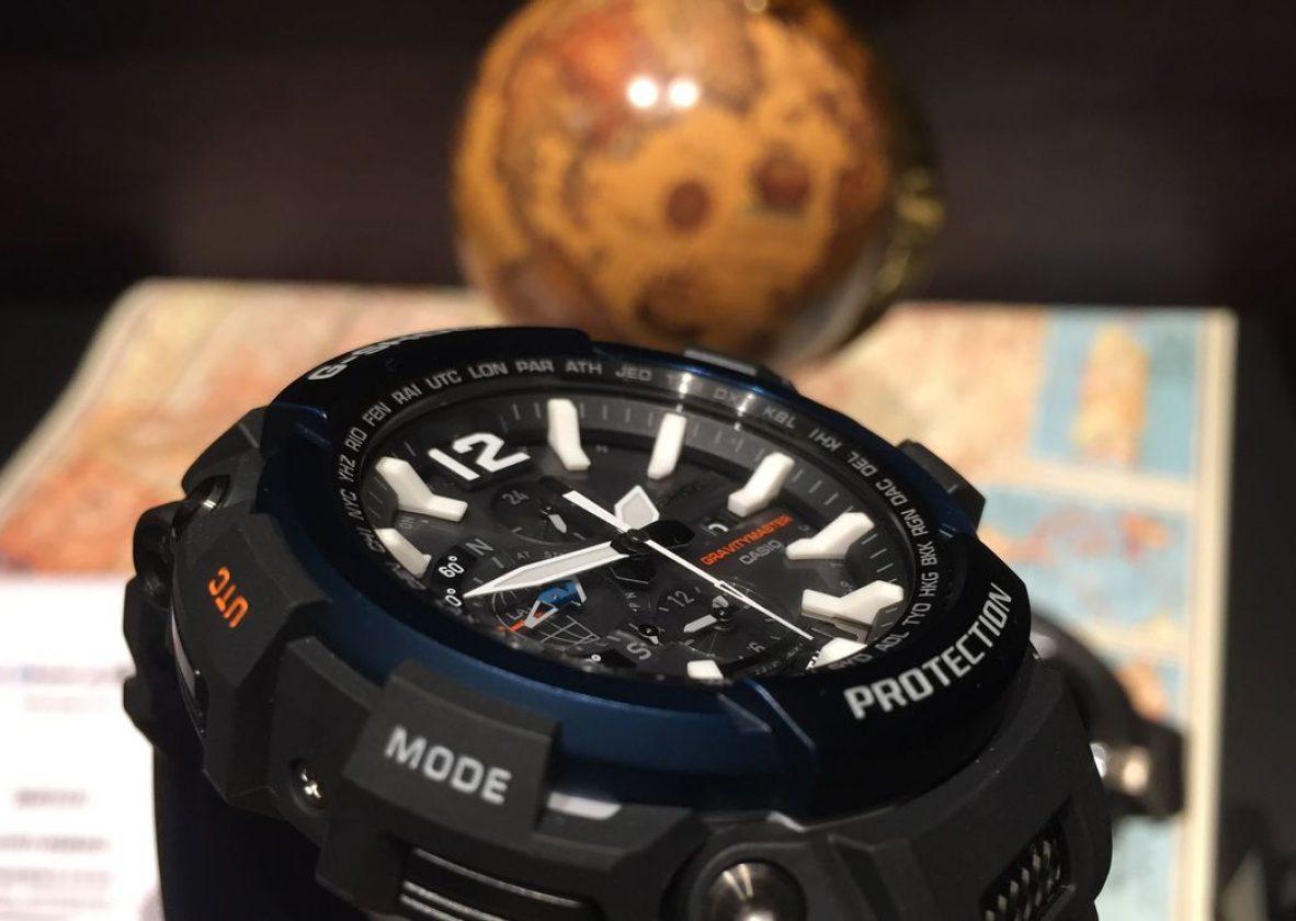 在錶殼、橡膠墊片及防撞設計的層層保護下,新款GPW-2000又一次展現G-SHOCK的強悍。
