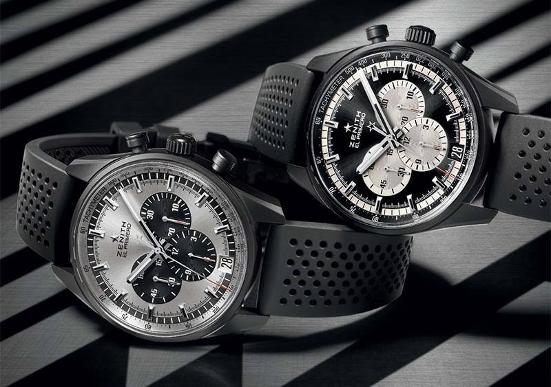 黑白雙雄 同場較勁:Zenith El PRIMERO 36,000 VPH腕錶