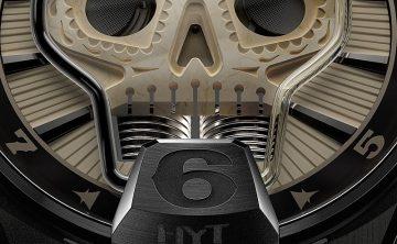 HYT Skull Vida腕錶歌頌不朽生命