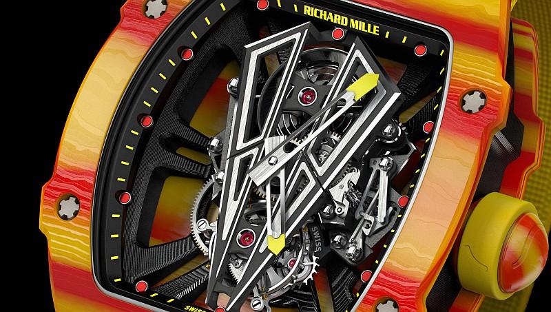見過納達爾的新夥伴—Richard Mille RM27-03陀飛輪腕錶