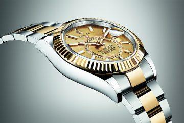 環球旅行人士之首選腕錶:勞力士Oyster Perpetual Sky-Dweller腕錶