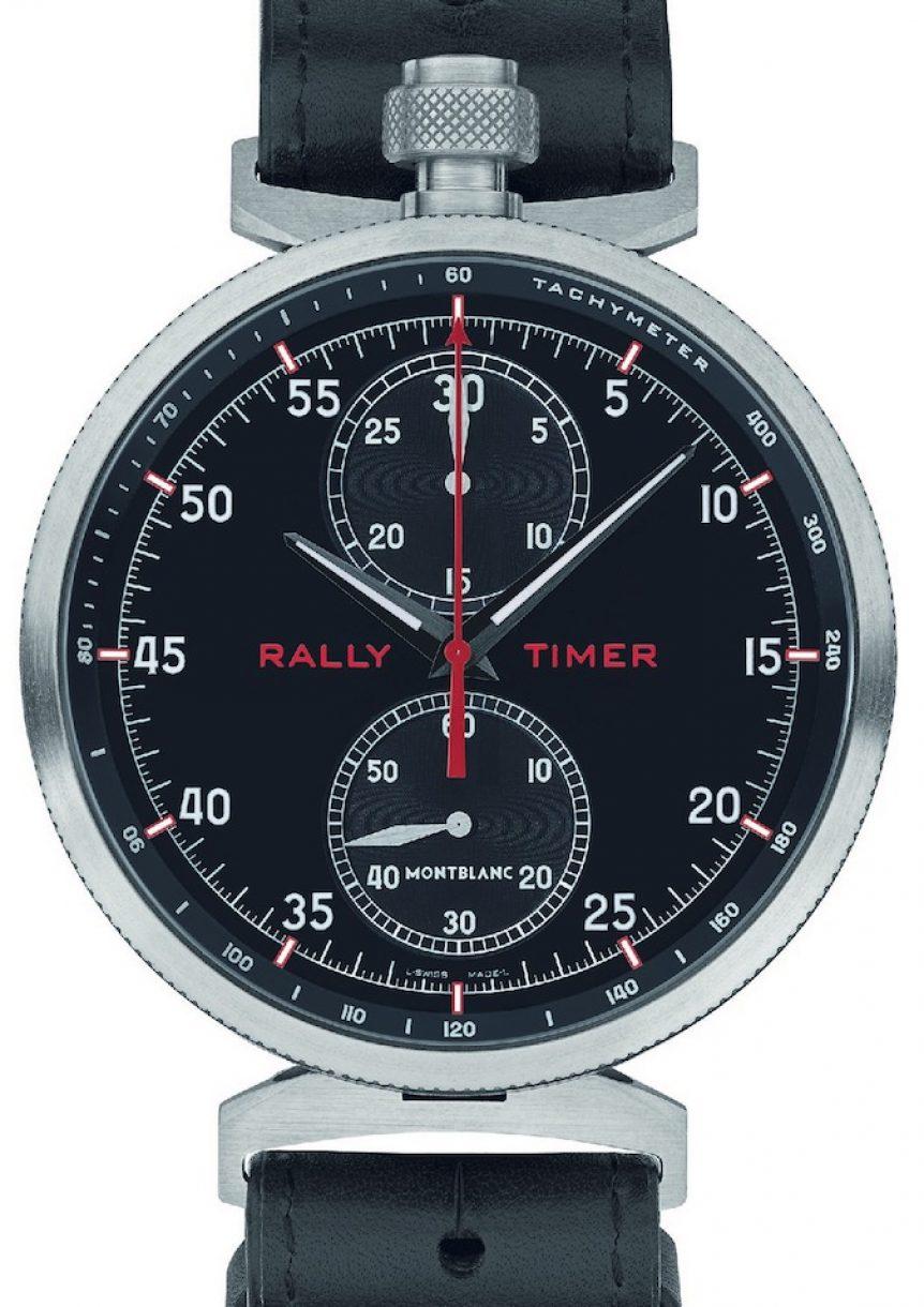 萬寶龍TimeWalker時光行者系列拉力賽計時腕錶,限量100只,參考售價:NTD 1,142,600。