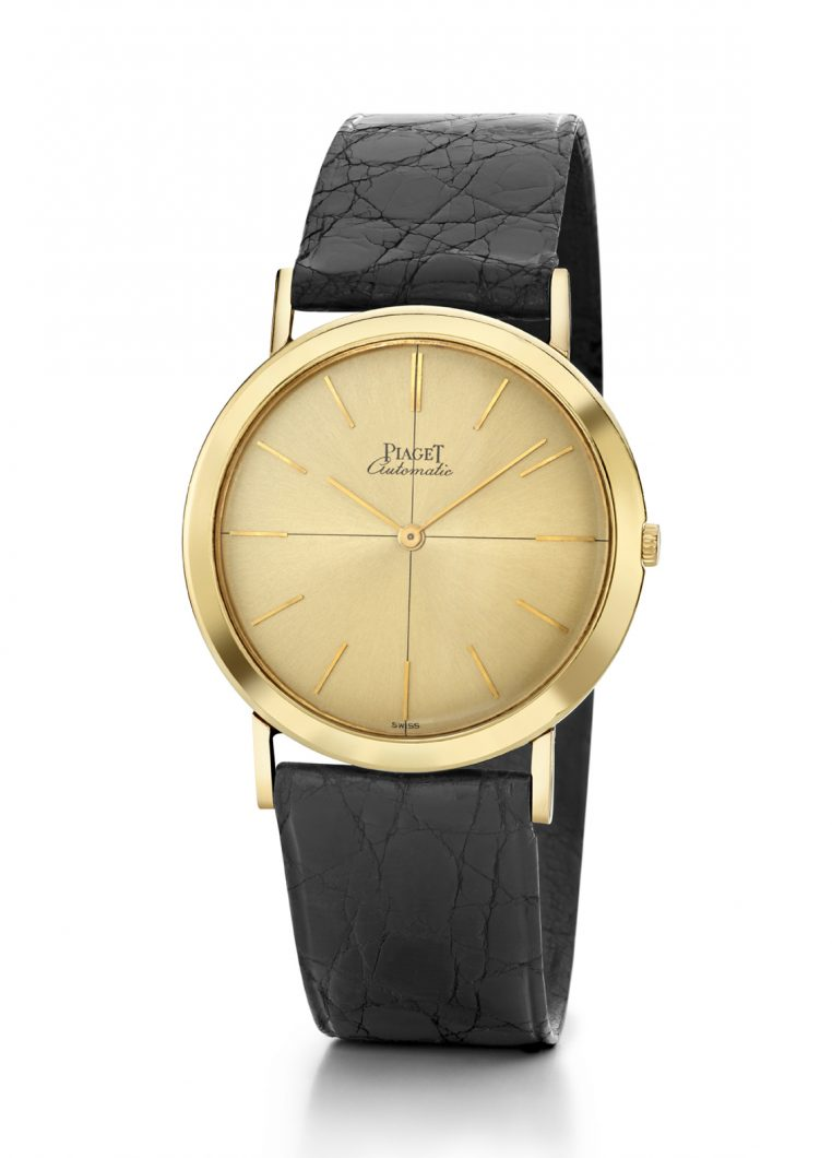 PIAGET Altiplano超薄腕錶,源自1960年代。