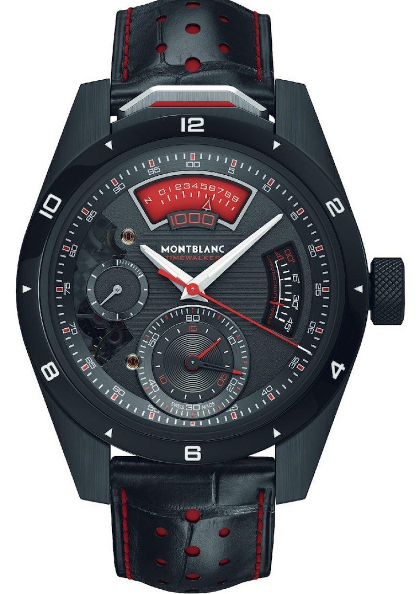 萬寶龍TimeWalker時光行者系列1000計時腕錶,限量18只,參考售價:NTD 5,404,000。