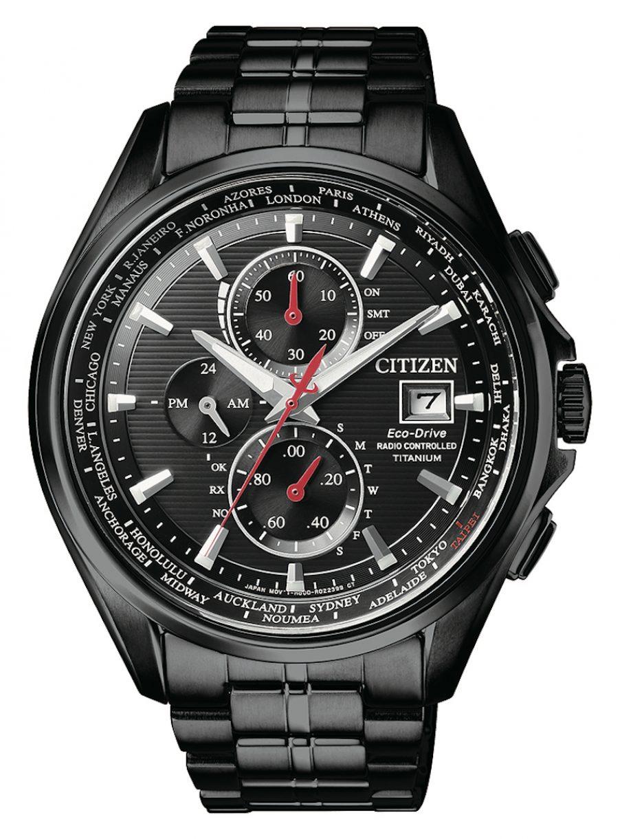 AT8135-87E1,光動能全球電波時計腕錶,參考售價:NTD 34,800 (CITIZEN台灣20週年限定款)。