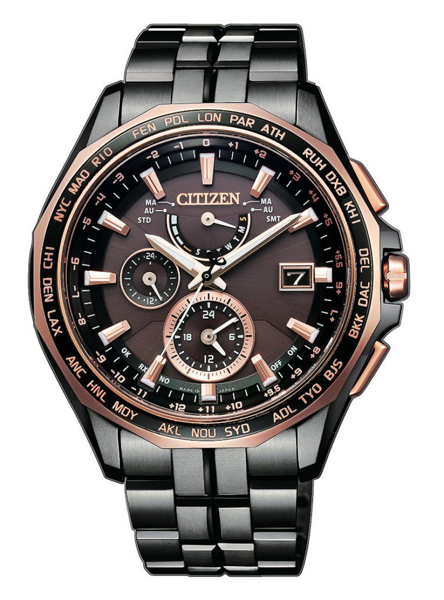 AT9096-73E,光動能全球電波時計腕錶,參考售價: NTD 57,900。