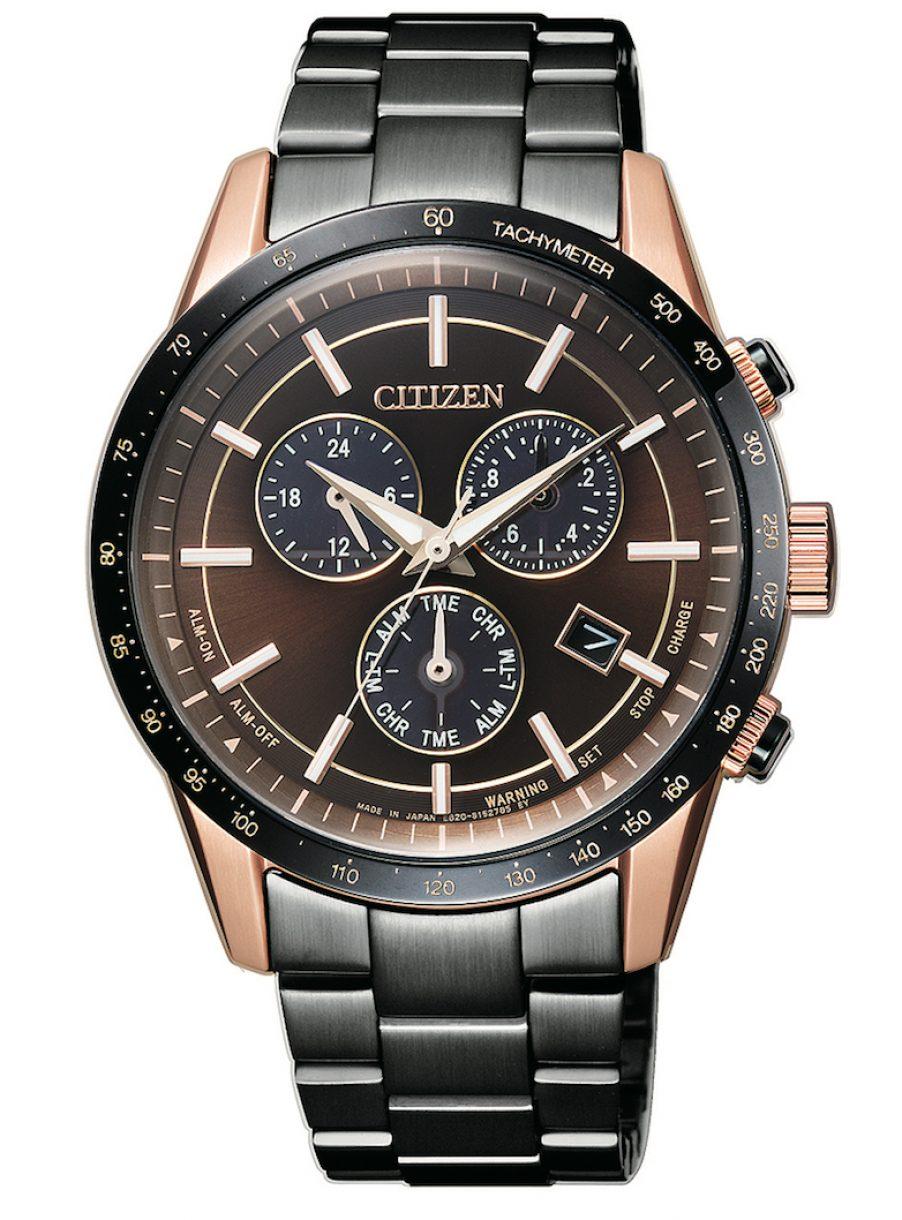 BL5496-53E,光動能萬年曆腕錶,參考售價: NTD 21,000。