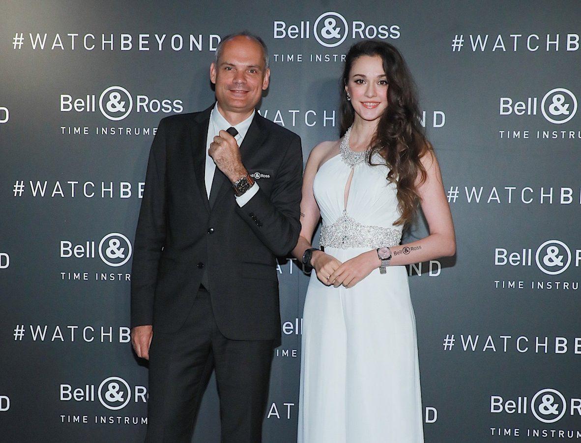 (左)Bell & Ross 總經理 Fabien de Nonancourt(右)瑞莎