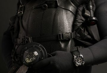 BELL & ROSS柏萊士首款方形潛水腕錶:BR 03-92 DIVER潛水錶