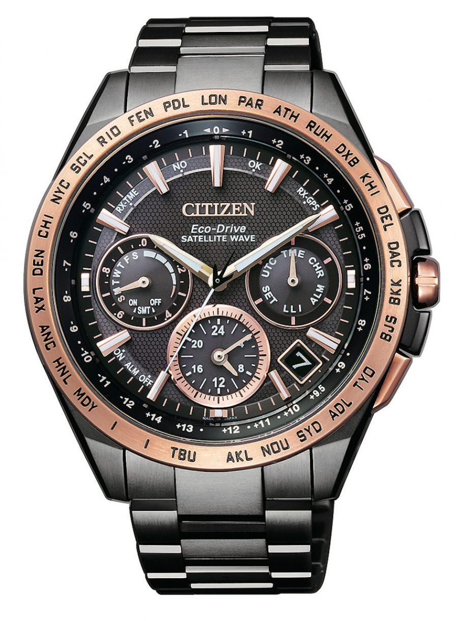 CC9016-60E,光動能GPS衛星對時腕錶,參考售價: NTD 79,800。