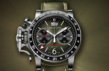 GRAHAM Chronofighter Vintage錶展7月7~15日於寶鴻堂鐘表台北創始店盛大展出