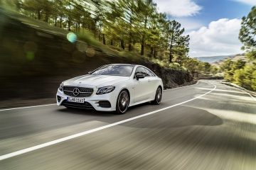 Mercedes-Benz全新E-Class Coupé即將發表,豪華轎跑新攻防開打