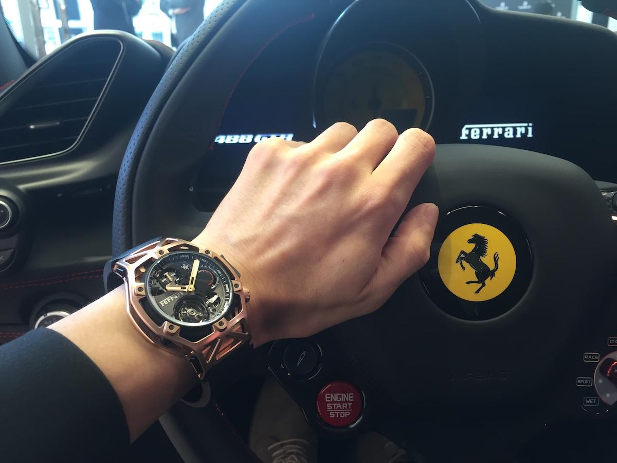 超跑與腕錶的友情:Hublot x Ferrari