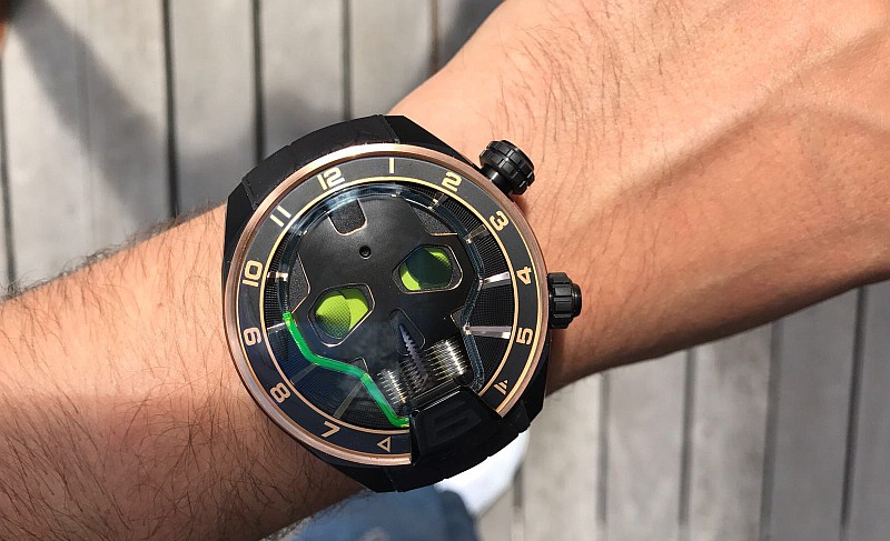 Skull Light腕錶:HYT打造的終極收藏傑作