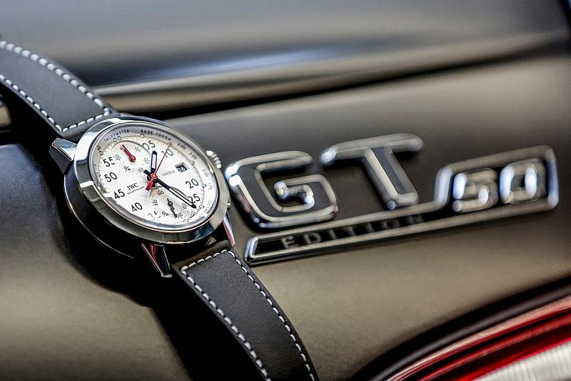 IWC萬國錶推出工程師運動計時碼錶Mercedes-AMG 50週年特別版