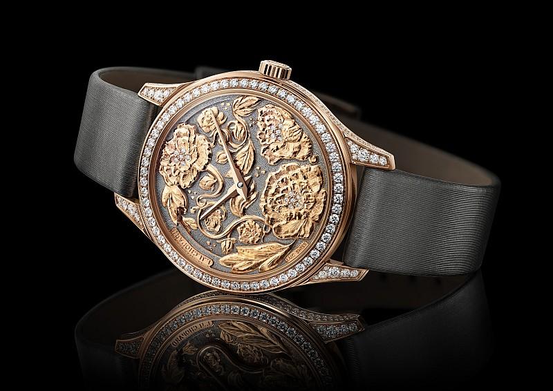 蕭邦L.U.C XP Esprit de Fleurier Peony腕錶