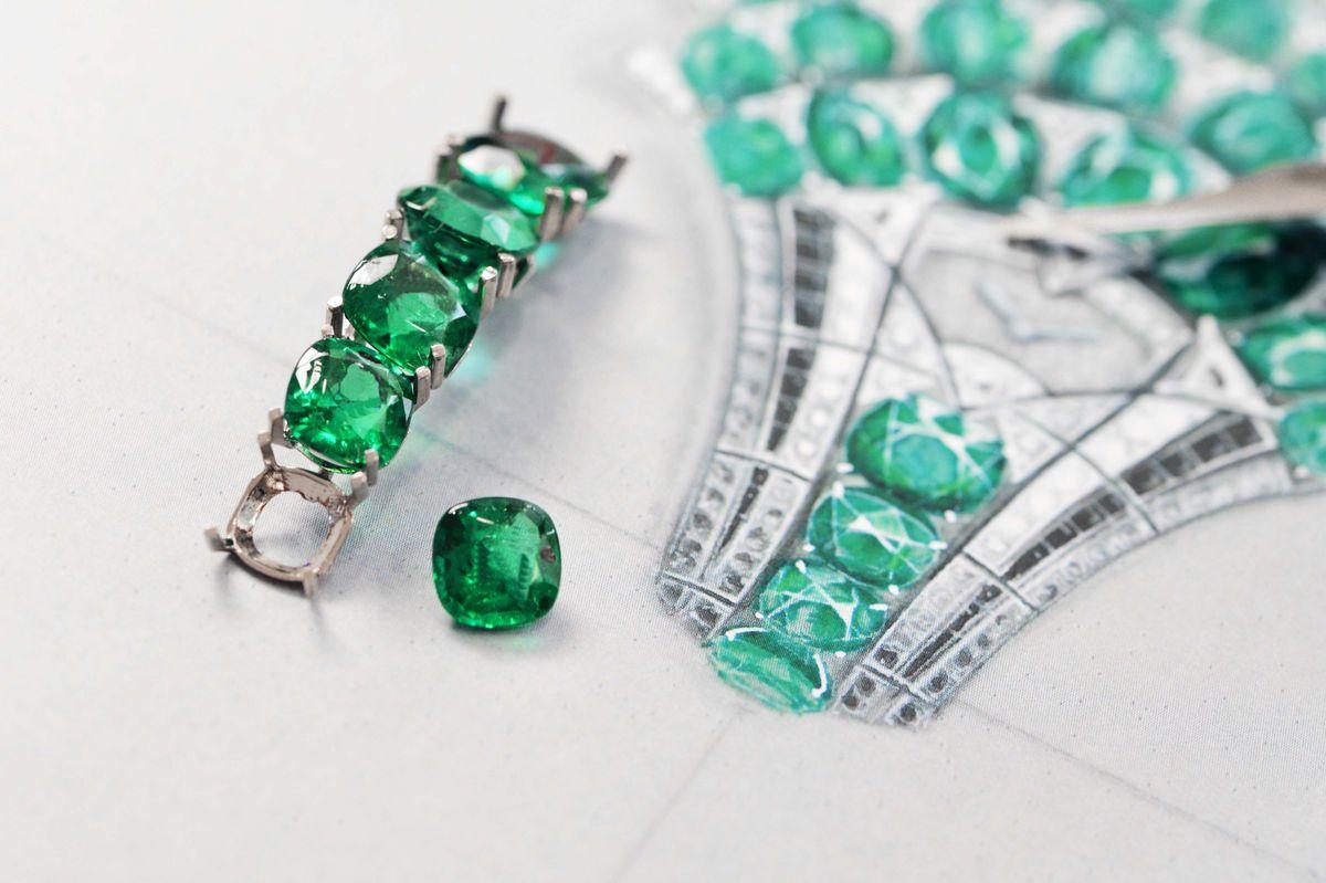 只為絕美設計:卡地亞高級珠寶時計
