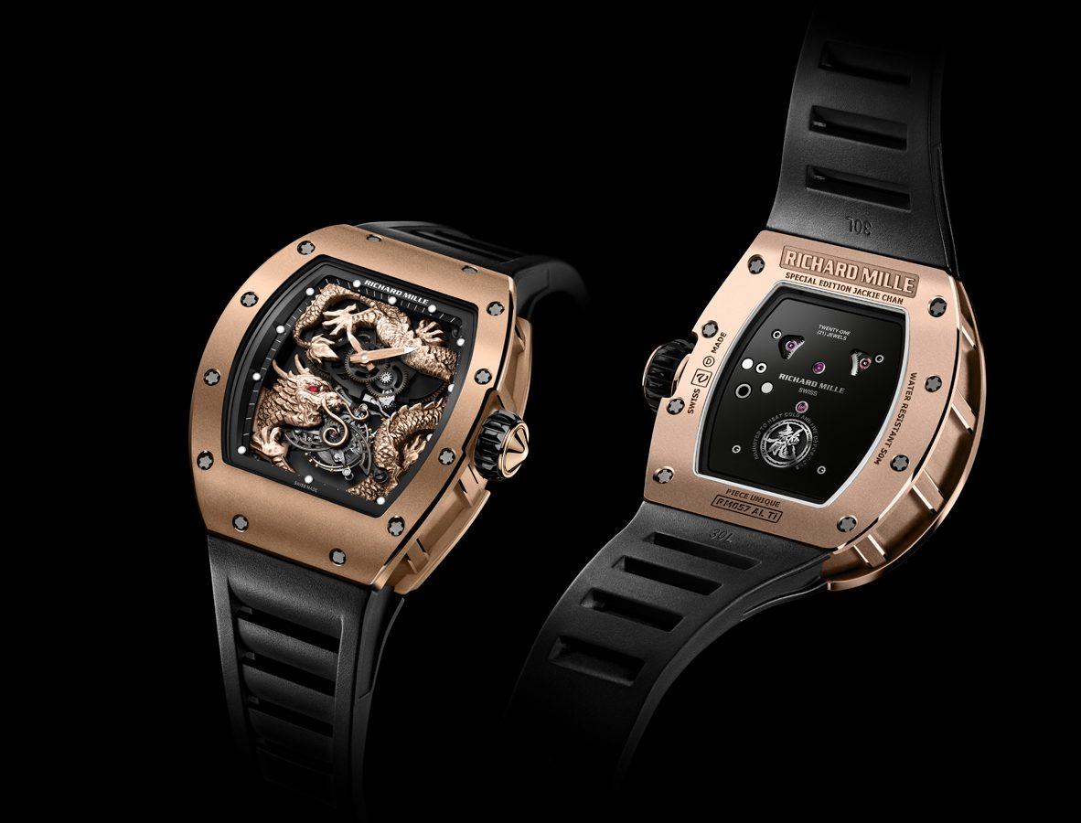 RM 57 成龍盤龍陀飛輪腕錶
