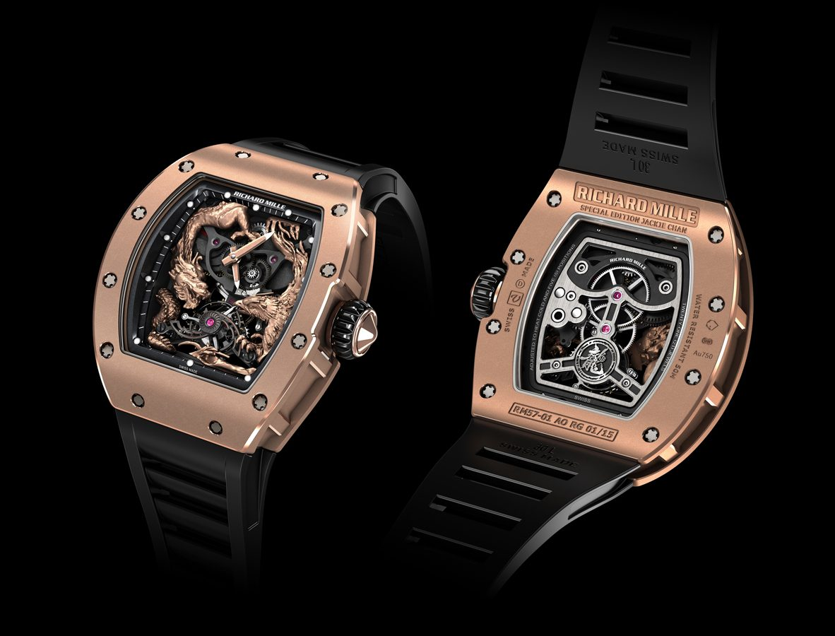 RM 57-01 成龍「龍飛鳳舞」陀飛輪腕錶