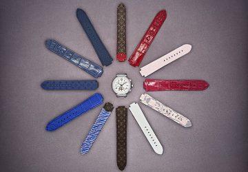 路易威登呈現特色新風貌:Louis Vuitton Tambour Moon腕錶系列