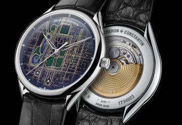 江詩丹頓Métiers d'Art藝術大師系列Villes Lumières光之城腕錶北京版發表