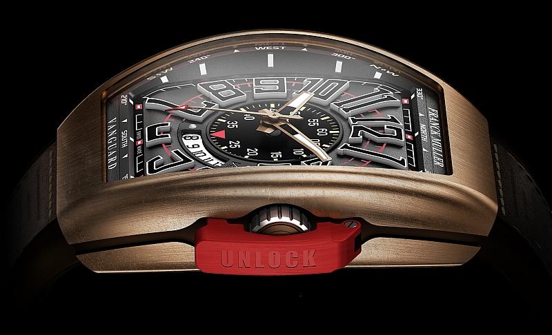 FRANCK MULLER 發表品牌第一只飛行限量青銅錶—Vanguard系列ICON I Fullback 腕錶