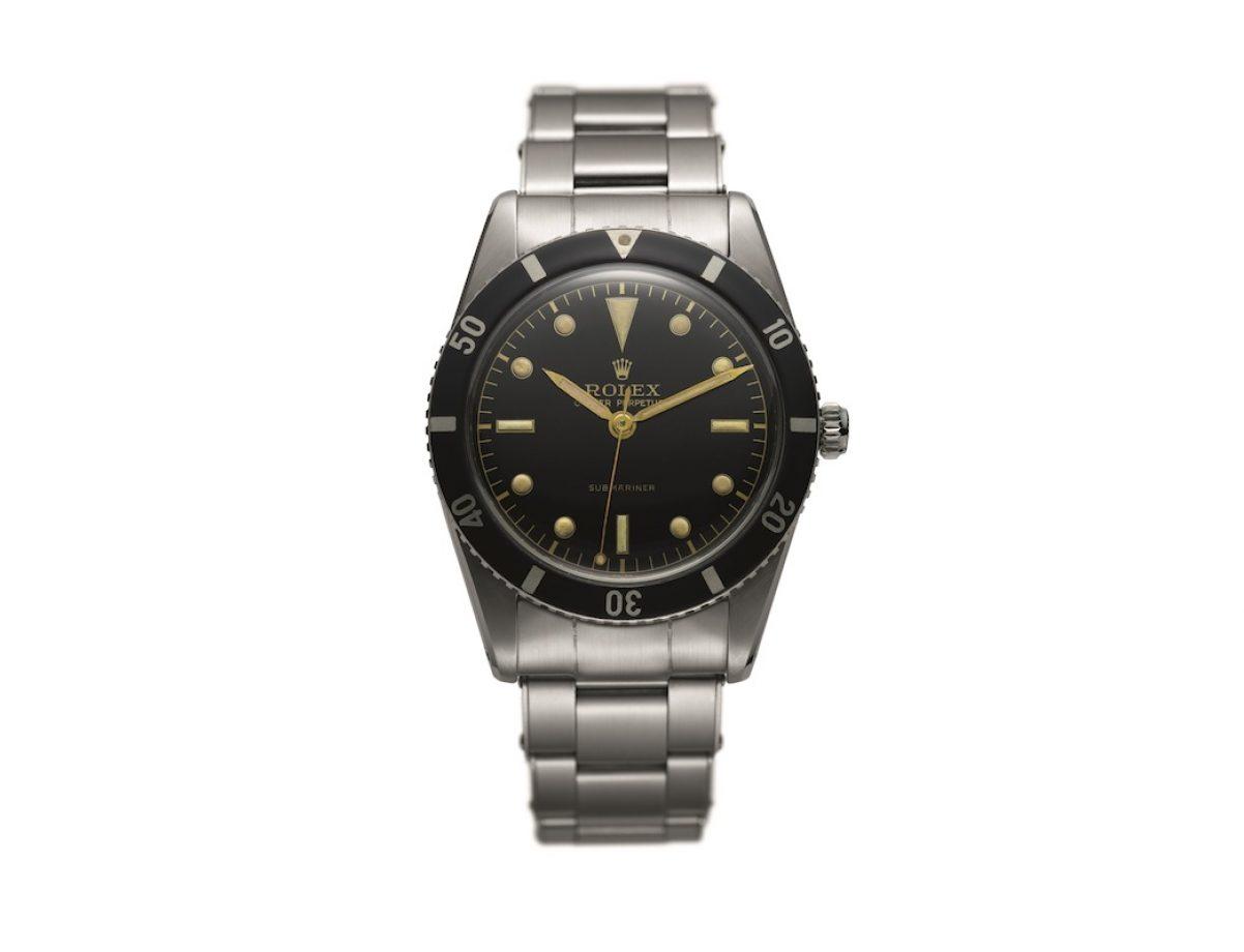 勞力士於1953年推出的第一款Submariner腕錶。