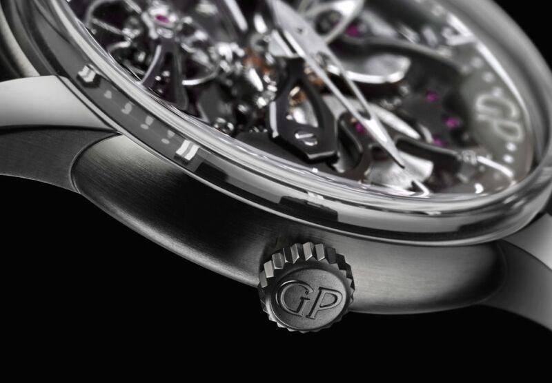 貫穿時間 直通未來:GP 芝柏表 Neo-Bridges鈦金屬自動腕錶