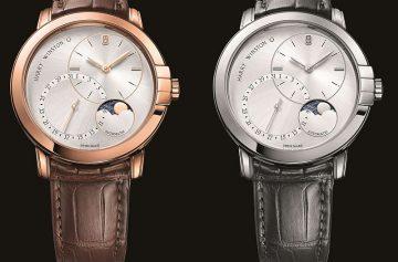 傳奇雋永的父親節獻禮:海瑞溫斯頓Midnight靜夜系列Date Moonphase 42 毫米自動上鍊腕錶