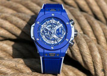 宇舶發表Big Bang Blue蔚藍腕錶,迎接盛夏時光