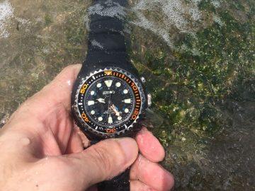 受不了地面上的溫度就下水吧!Seiko Prospex Diver Scuba