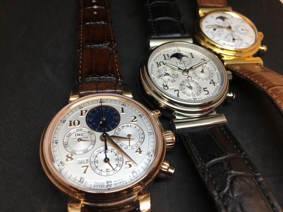 見證歷史的演進:IWC達文西系列古董錶展
