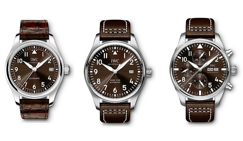 演繹小王子系列經典設計:IWC萬國錶推出三款全新「聖艾修伯里」飛行員腕錶
