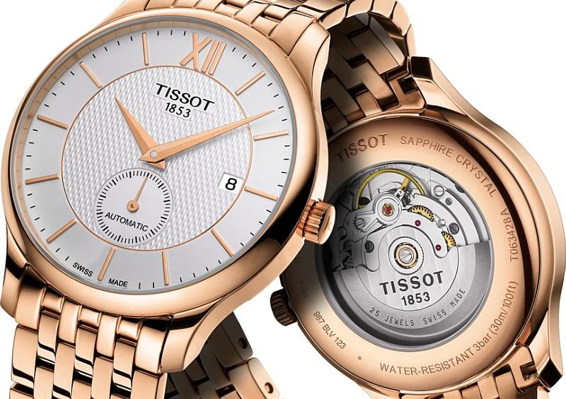 刻劃屬於成熟的宣言:天梭表T-Classic Tradition俊雅系列小秒針款腕錶