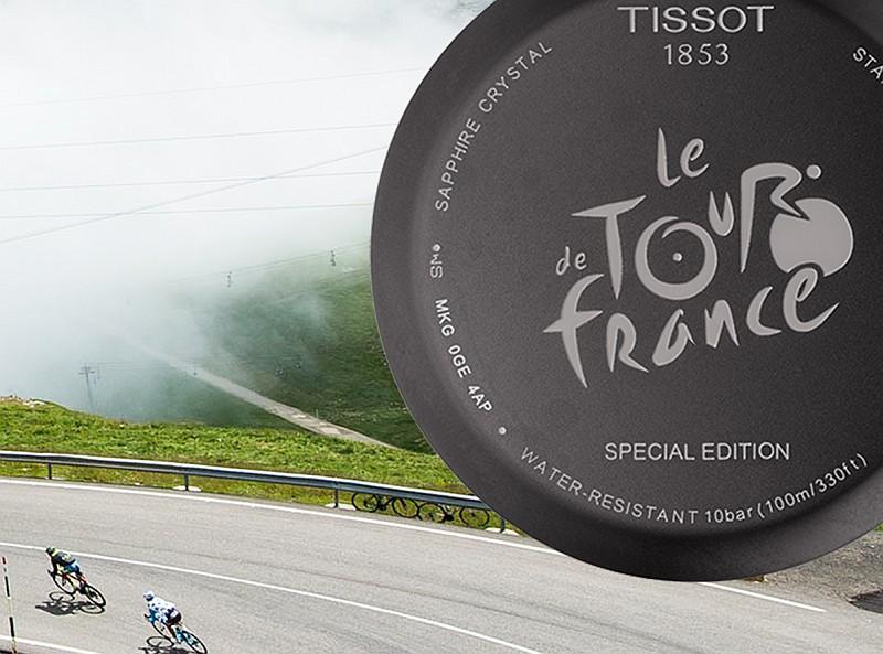 黃風再起:天梭表推出2017環法自行車賽特別系列計時腕錶,再度征戰自行車賽最高殿堂
