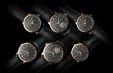 用當代精神展現日內瓦傳統製錶工藝:江詩丹頓Traditionnelle系列推出六款全新深岩灰色錶盤新品