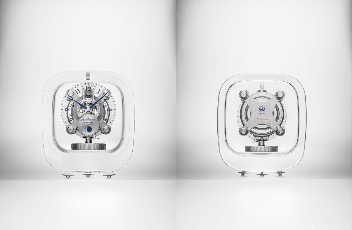會呼吸的鐘:積家Atmos 568