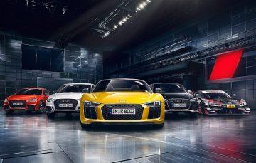 即刻報名Audi Driving Experience 2017極限體驗營,體驗R8 V10 plus與TT RS 的貼地極速快感