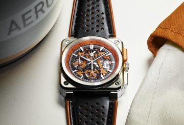 展現腕錶的機械之美:Bell & Ross BR 03 ORANGE AERO GT橘色風暴來襲