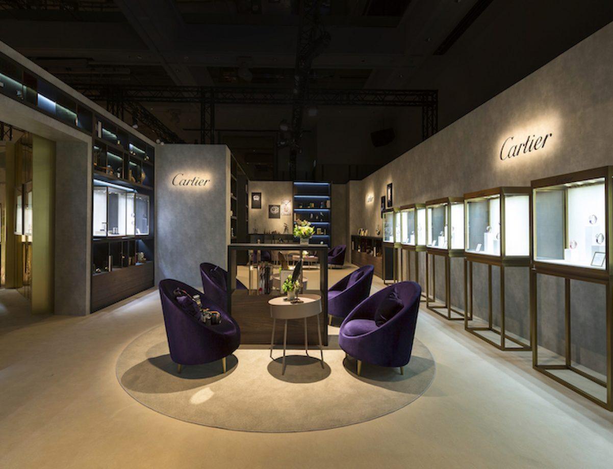 2017 卡地亞珍稀時刻腕錶展 高級製錶展區