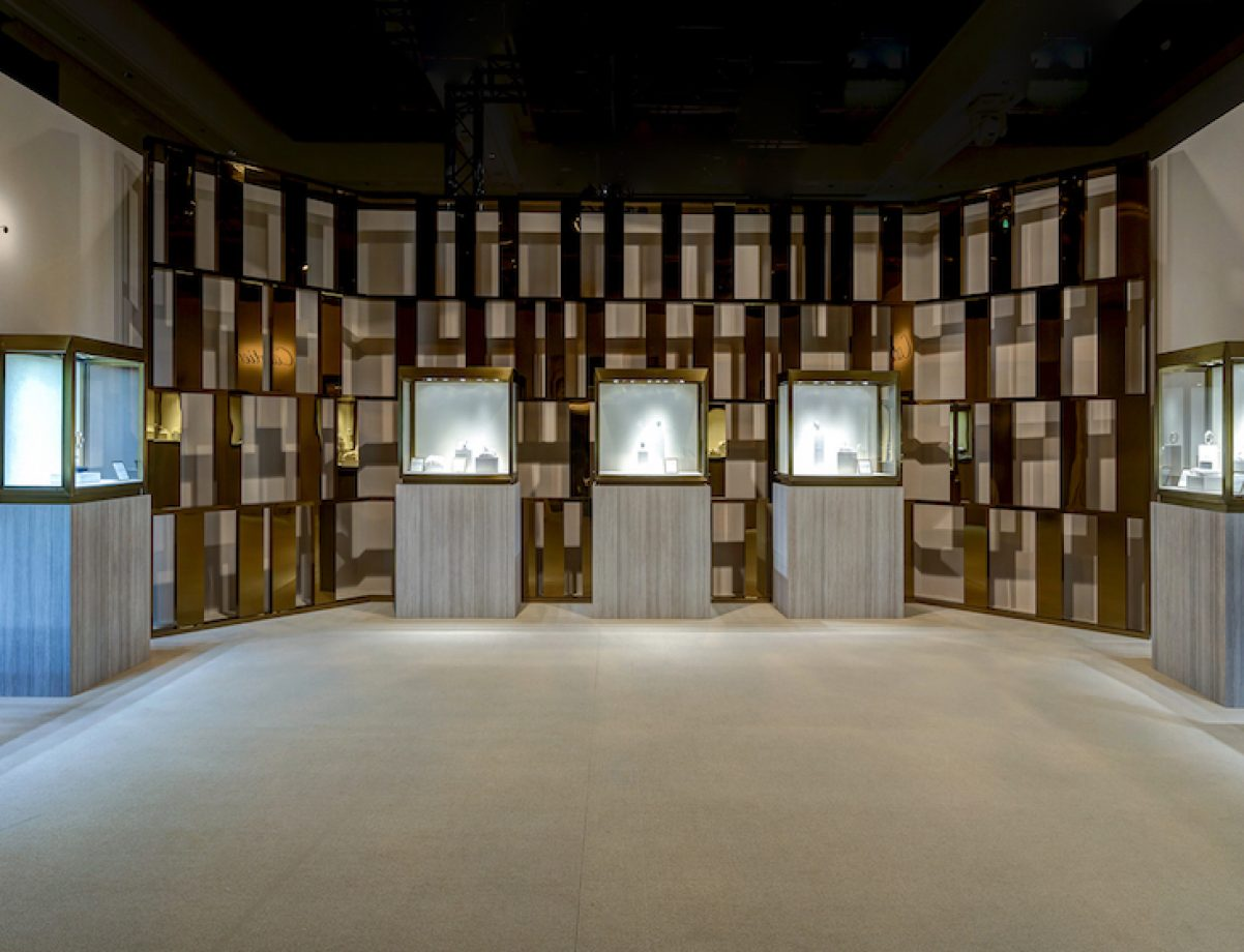 2017 卡地亞珍稀時刻腕錶展 頂級珠寶展區