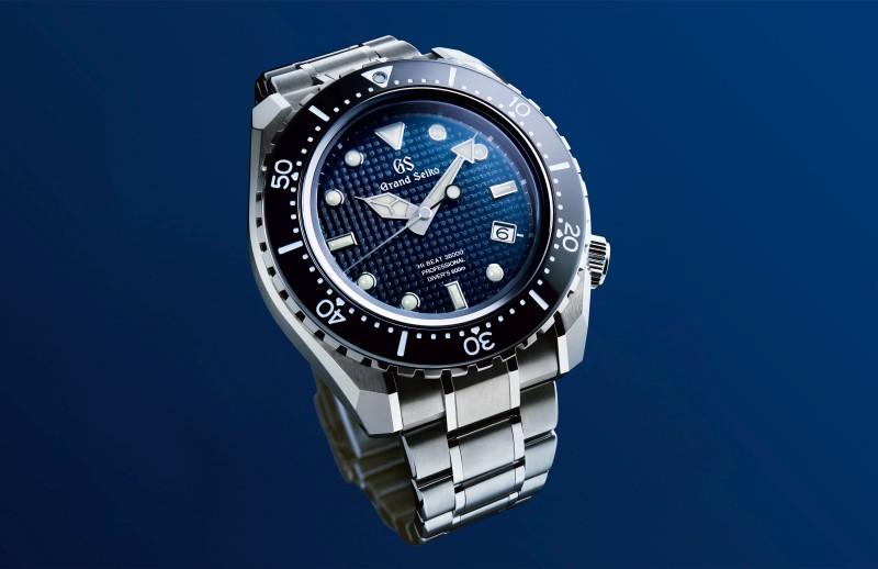 潛入深海:Grand Seiko推出首只專業飽和潛水腕錶