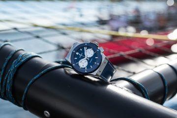 Hublot榮任歐洲規模最大的湖上帆船賽官方計時,推出經典融合系列Bol d'Or Mirabaud 2017限量計時碼錶