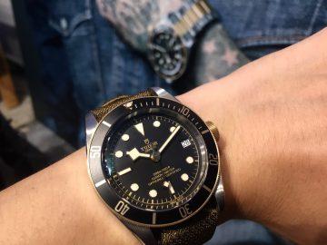 風格與態度:Tudor全新Heritage Black Bay系列腕錶