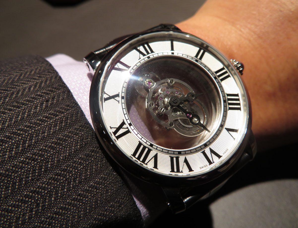 Rotonde de Cartier天體運轉式神秘陀飛輪腕錶